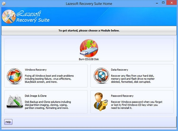 download Lazesoft Recovery Suite