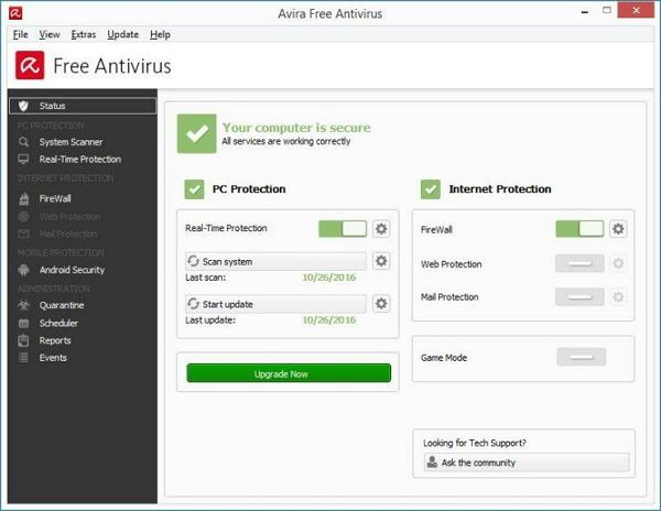 Download Avira Free Antivirus Terbaru