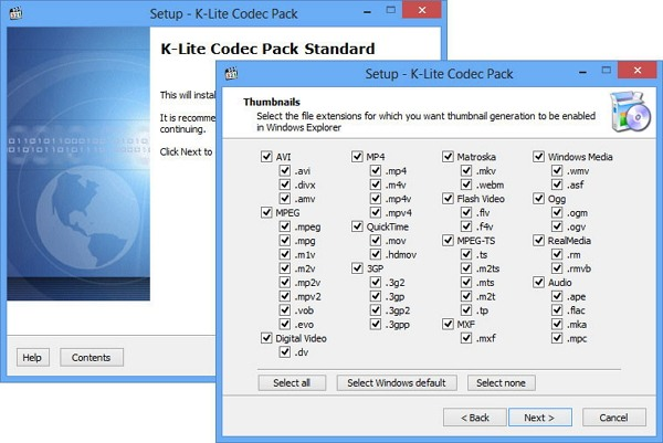 Download K-Lite Codec Pack terbaru