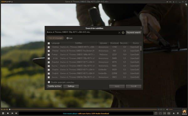 download GOM Player terbaru