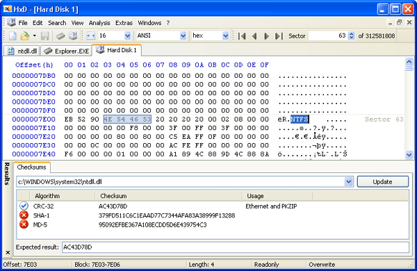 Download HxD Hex Editor