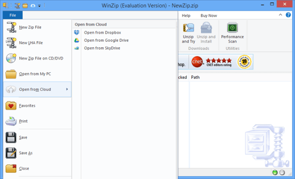 Download WinZip Terbaru
