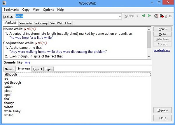 Download WordWeb Terbaru