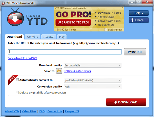 Download YTD Video Downloader Terbaru