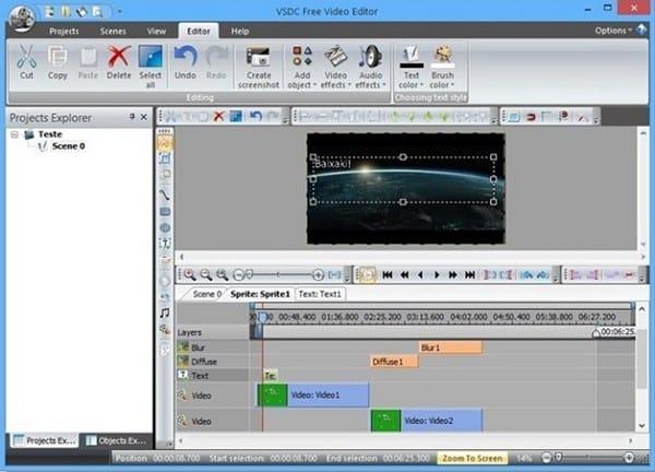 download VSDC video editor