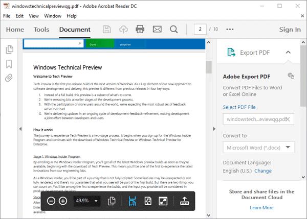 Download Adobe Acrobat Reader Terbaru