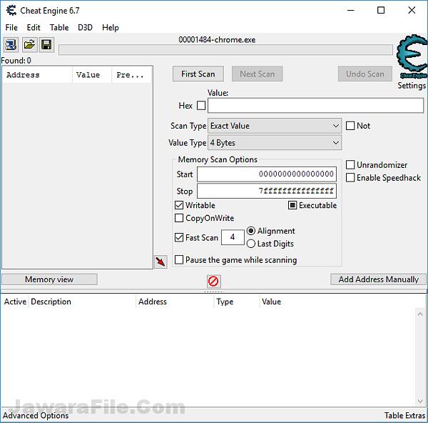 download Cheat Engine terbaru