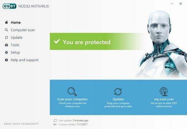 Download ESET NOD32 Antivirus Terbaru