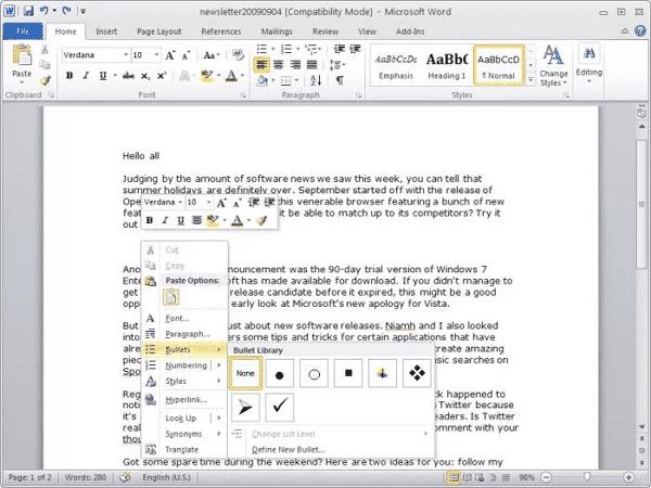 Download Microsoft Office 2010 Terbaru