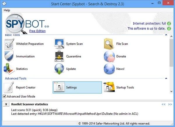 Download Spybot – Search & Destroy Terbaru
