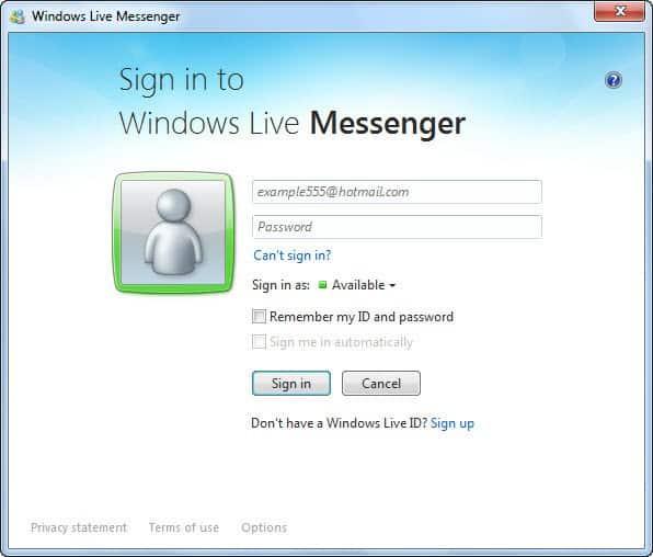 Download Windows Live Messenger Terbaru