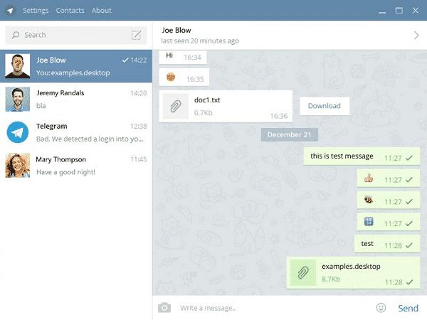 Download Telegram for PC Terbaru