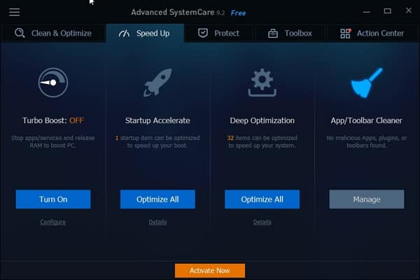 Download Advanced SystemCare