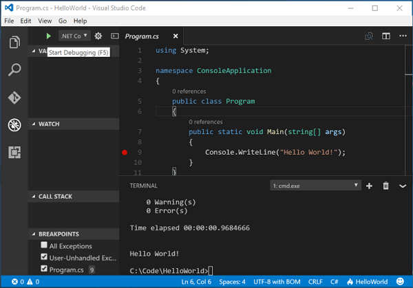 Download Visual Studio Code terbaru