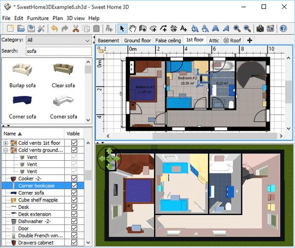 DownloadSweet Home 3D Terbaru