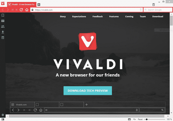 Download Vivaldi Browser Terbaru