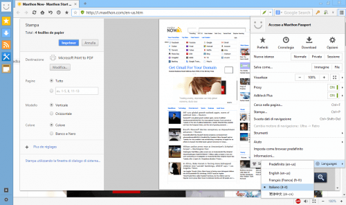 Download Maxthon Browser Terbaru