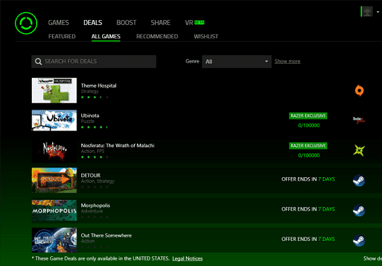 Download Razer Cortex Terbaru