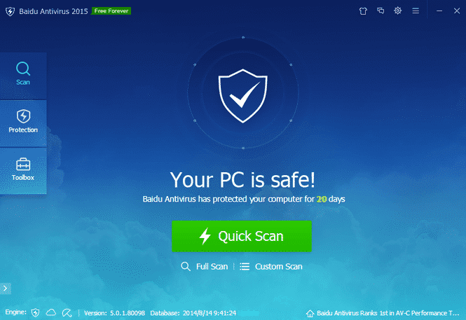 Download Baidu Antivirus Terbaru