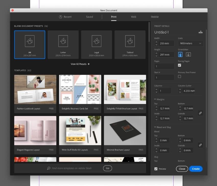 Adobe Indesihn Adalah software pembuat brosur