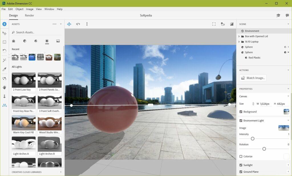 Download Adobe Dimesaion cc