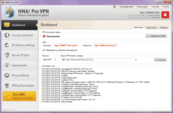 Download HMA VPN